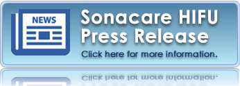 Sonacare HIFU Press Release